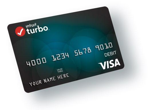 Turbo Card TurboTax Intuit